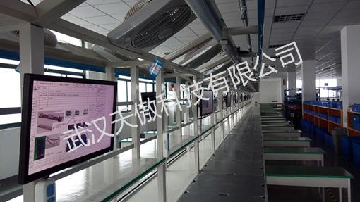 液晶生产信息电子看板架构与应用-电子看板-液晶电子看板-生产车间管理看板-武汉天傲科技有限公司